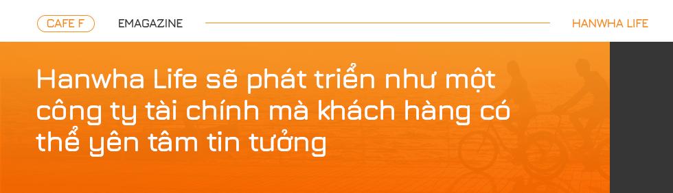 CEO Hanwha Life Việt Nam: Khai phá những cách thức sáng tạo hơn về dịch vụ tài chính - Ảnh 1.