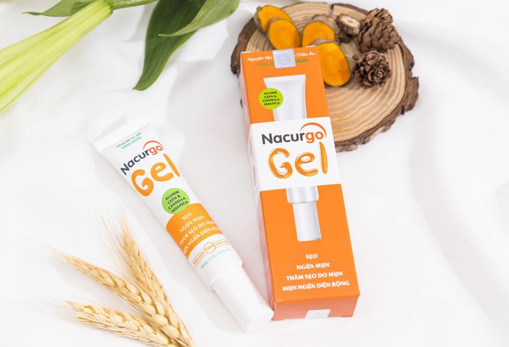 Nacurgo Gel - Gel ngừa mụn, sẹo từ thảo dược thiên nhiên - Ảnh 4.