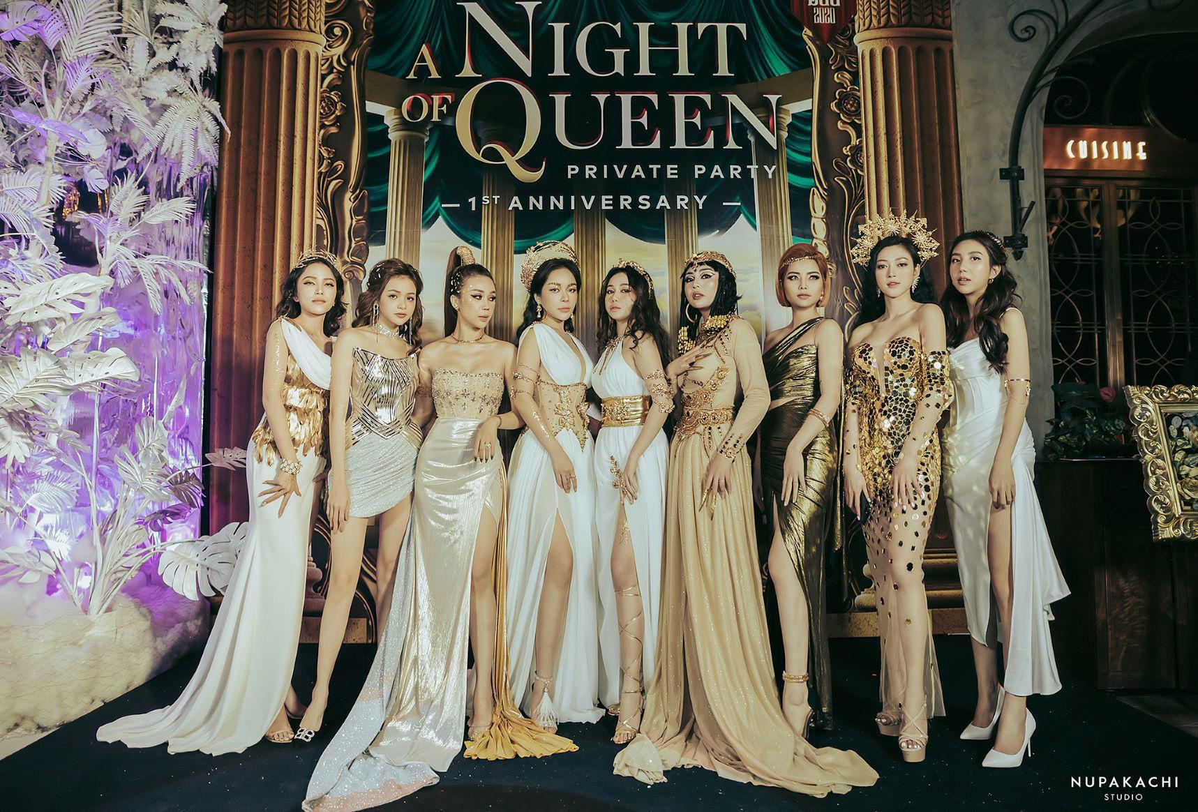 """""""Night of Queen"""" - Đêm tiệc mang phong cách Hy Lạp quy tụ dàn hotgirl đình đám Hà thành - Ảnh 4."""