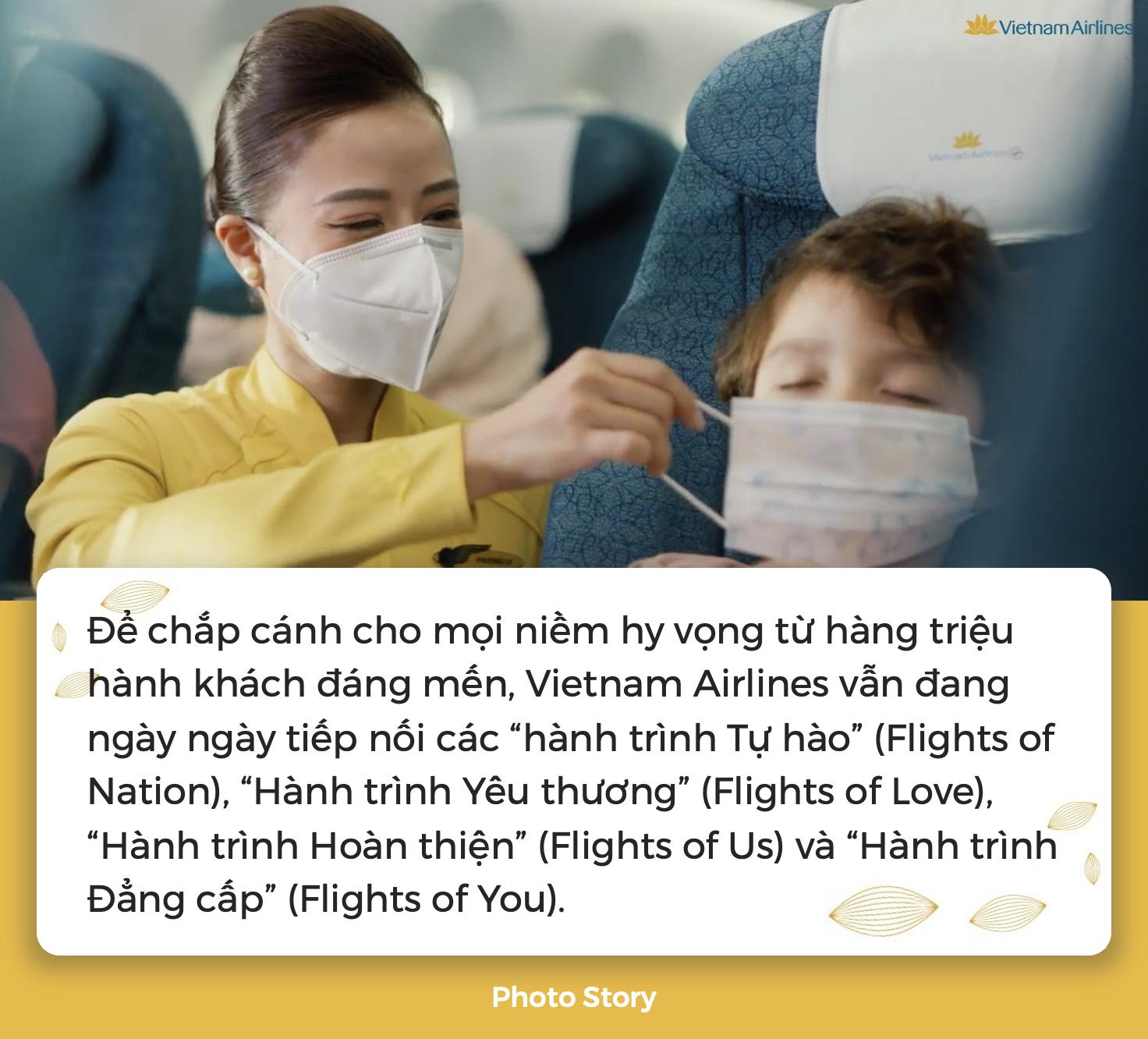 """Cùng Vietnam Airlines lan tỏa thông điệp """"Vì sao chúng ta bay?"""", sẵn sàng mang niềm hy vọng đặt vào mùa xuân mới - Ảnh 7."""
