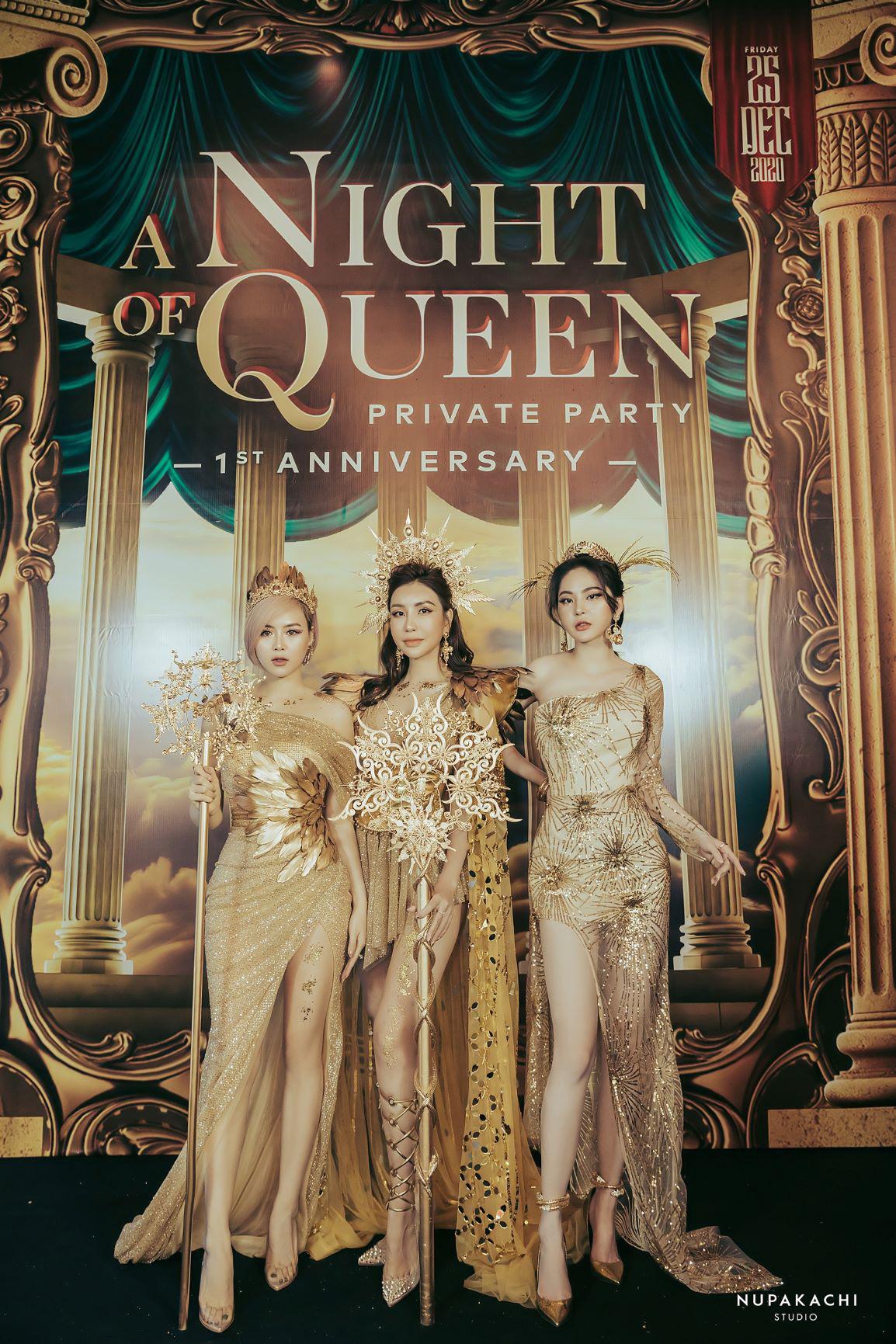 """""""Night of Queen"""" - Đêm tiệc mang phong cách Hy Lạp quy tụ dàn hotgirl đình đám Hà thành - Ảnh 5."""