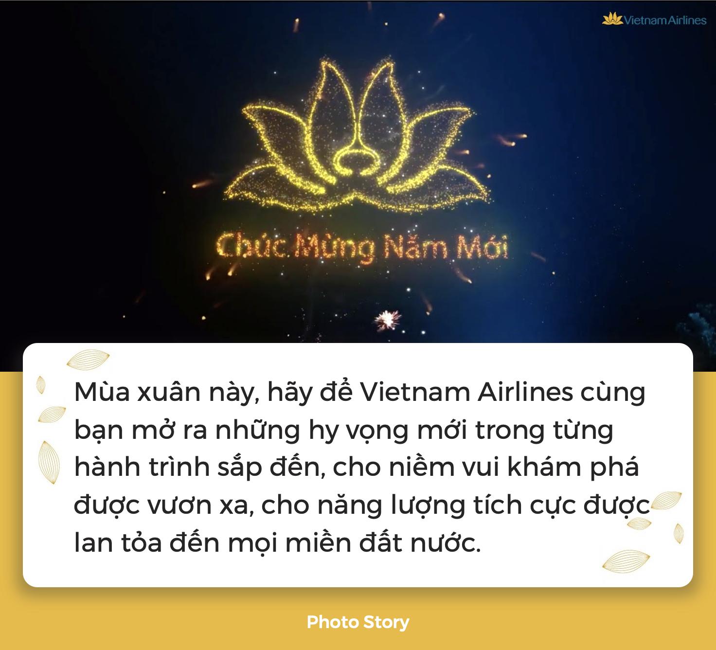 """Cùng Vietnam Airlines lan tỏa thông điệp """"Vì sao chúng ta bay?"""", sẵn sàng mang niềm hy vọng đặt vào mùa xuân mới - Ảnh 9."""