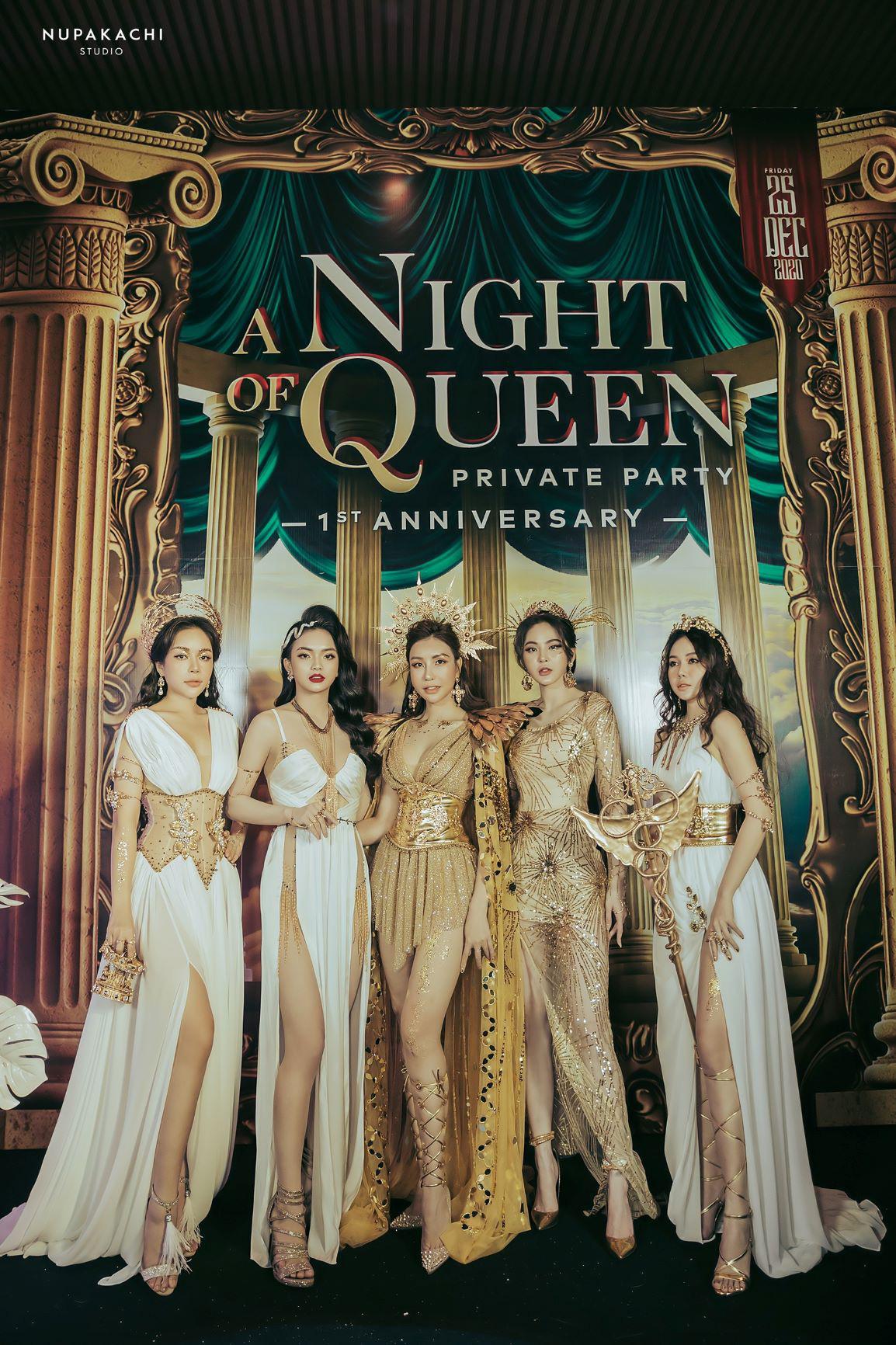 """""""Night of Queen"""" - Đêm tiệc mang phong cách Hy Lạp quy tụ dàn hotgirl đình đám Hà thành - Ảnh 6."""