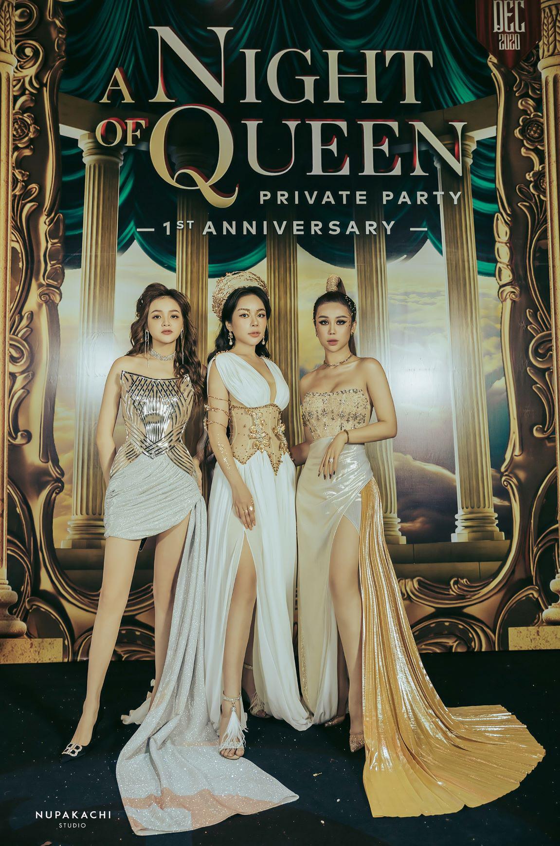 """""""Night of Queen"""" - Đêm tiệc mang phong cách Hy Lạp quy tụ dàn hotgirl đình đám Hà thành - Ảnh 7."""