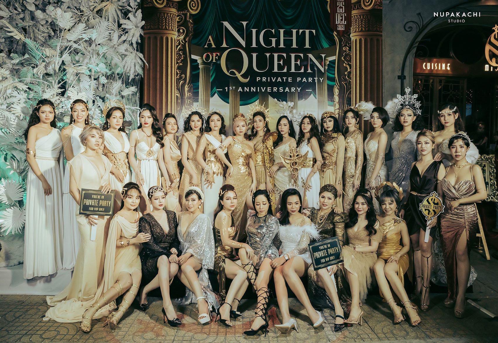 """""""Night of Queen"""" - Đêm tiệc mang phong cách Hy Lạp quy tụ dàn hotgirl đình đám Hà thành - Ảnh 1."""