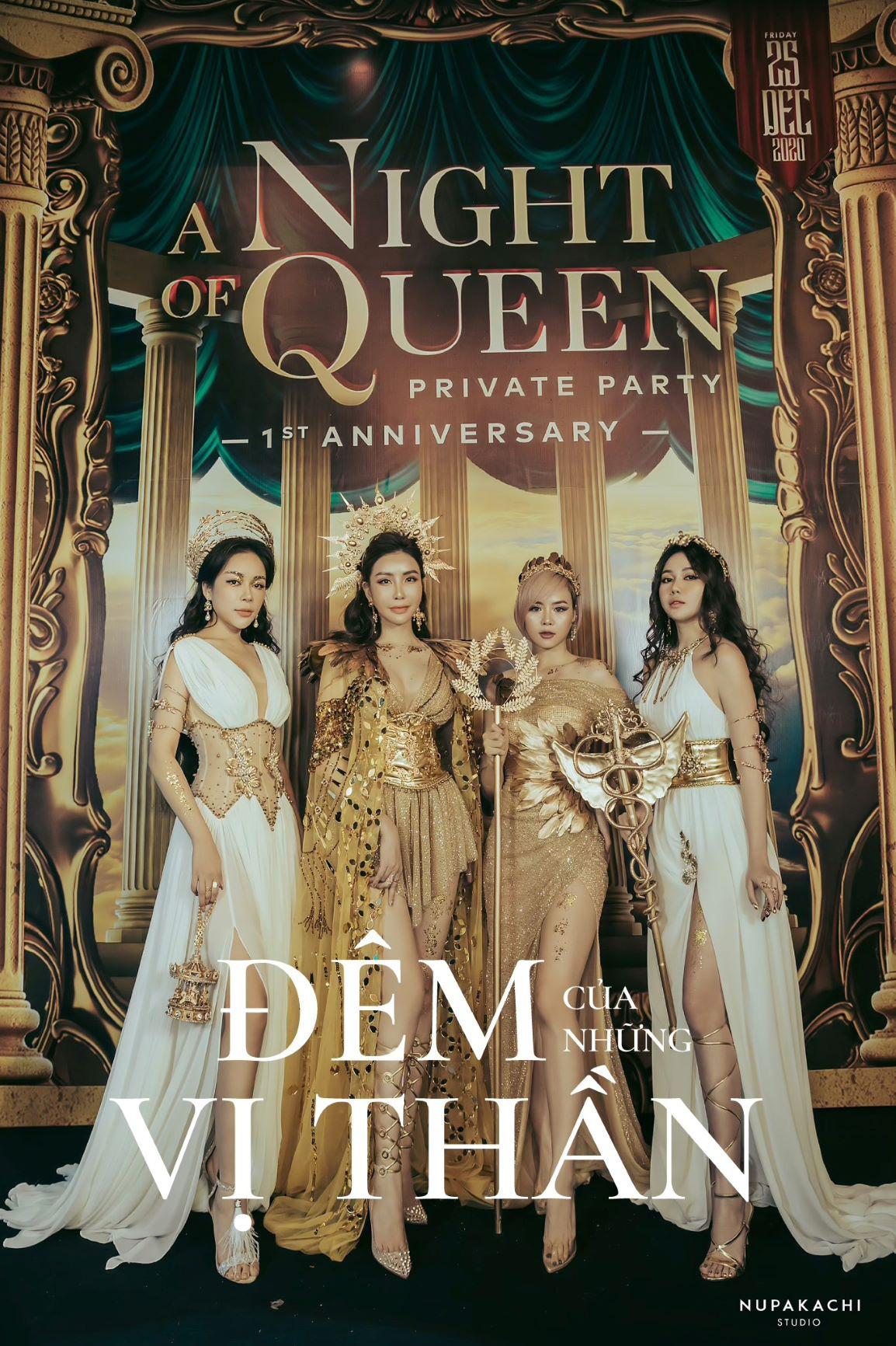 """""""Night of Queen"""" - Đêm tiệc mang phong cách Hy Lạp quy tụ dàn hotgirl đình đám Hà thành - Ảnh 2."""