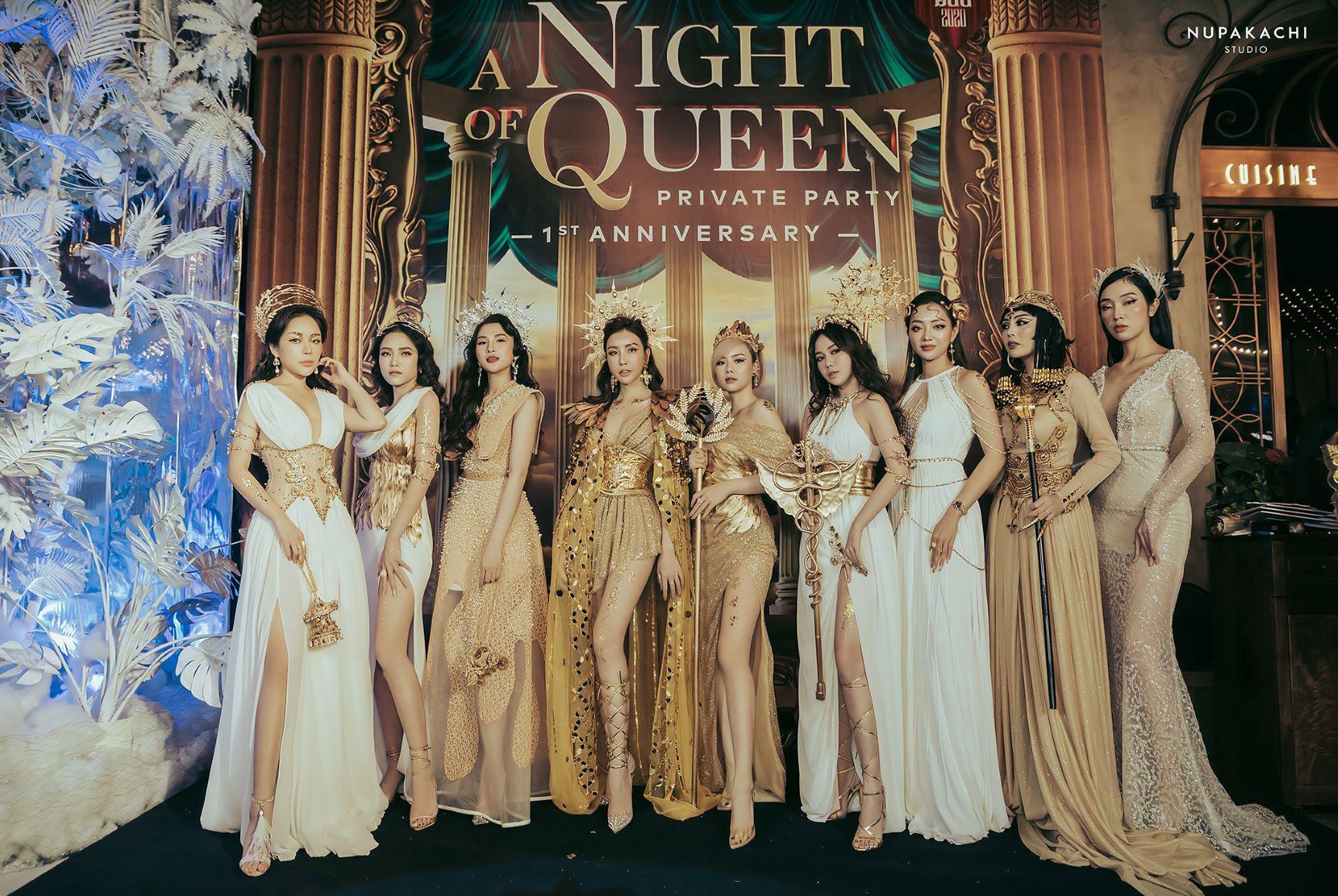 """""""Night of Queen"""" - Đêm tiệc mang phong cách Hy Lạp quy tụ dàn hotgirl đình đám Hà thành - Ảnh 3."""