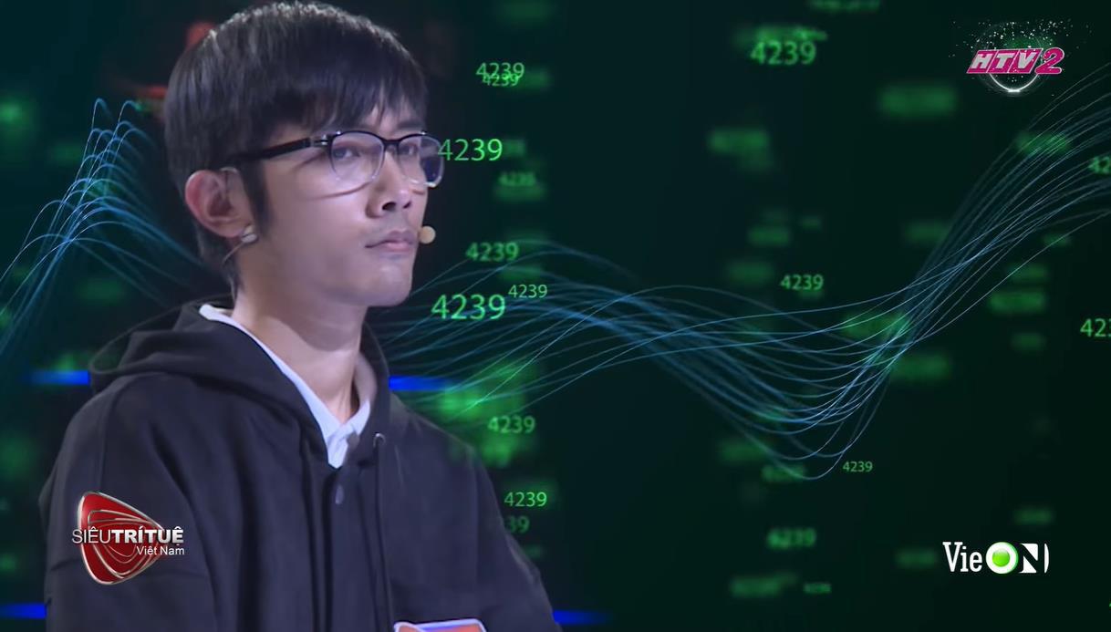 """""""Trùm cuối"""" Lê Duy Bách của Siêu trí tuệ Việt Nam mùa 2 gây choáng ngợp với bộ não thiên tài - Ảnh 3."""