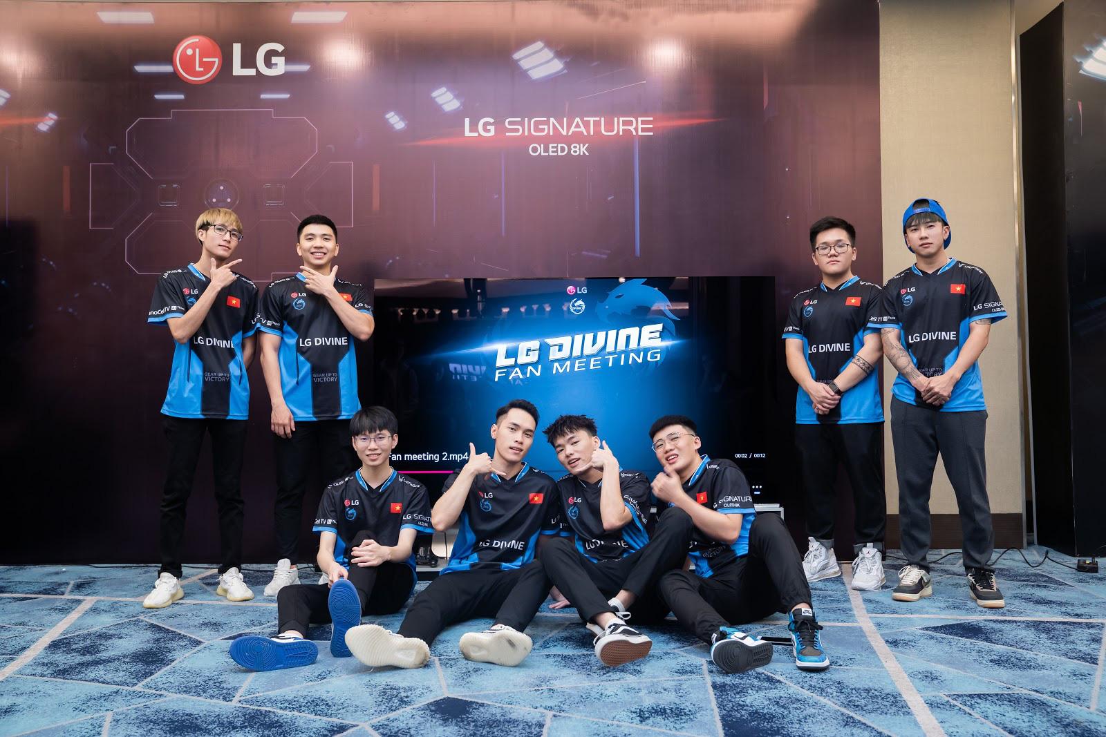 Tập đoàn LG trở thành nhà tài trợ cho Divine eSports - Ảnh 7.