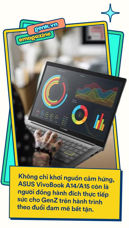 """ASUS A14/A15: Câu trả lời cho hành trình tìm kiếm laptop """"trong mơ"""" của GenZ - Ảnh 10."""