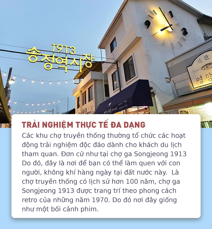 5 lý do khiến các khu chợ truyền thống là điểm du lịch lý tưởng khi đến Hàn Quốc - Ảnh 2.