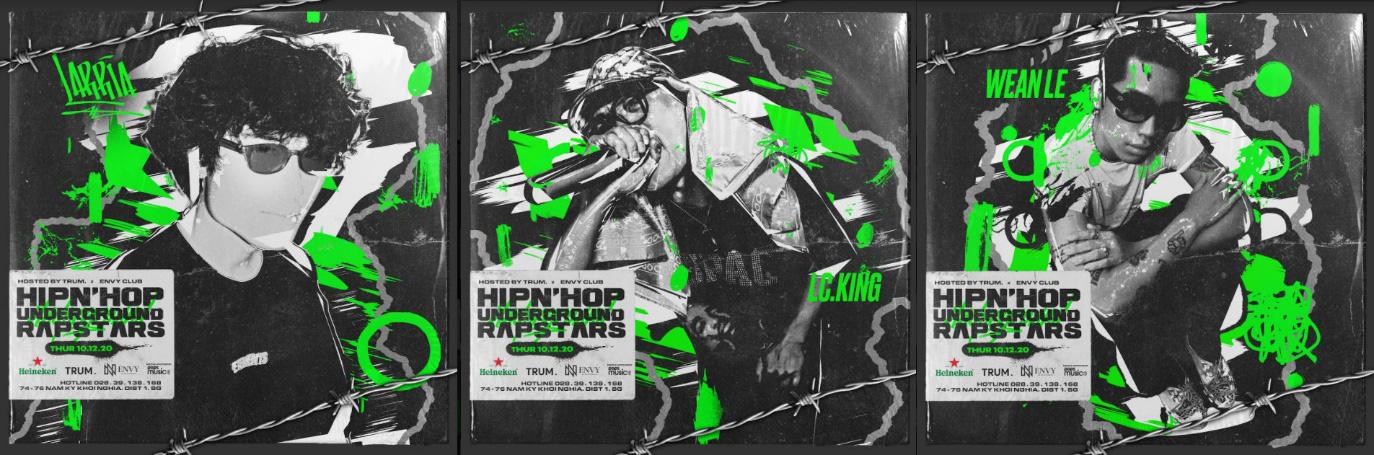 Hip n Hop tung đêm diễn đầu tiên với R.Tee, Yuno Bigboi, 16Typh, 95G, nghe đâu là có cả Dế Choắt? - Ảnh 2.