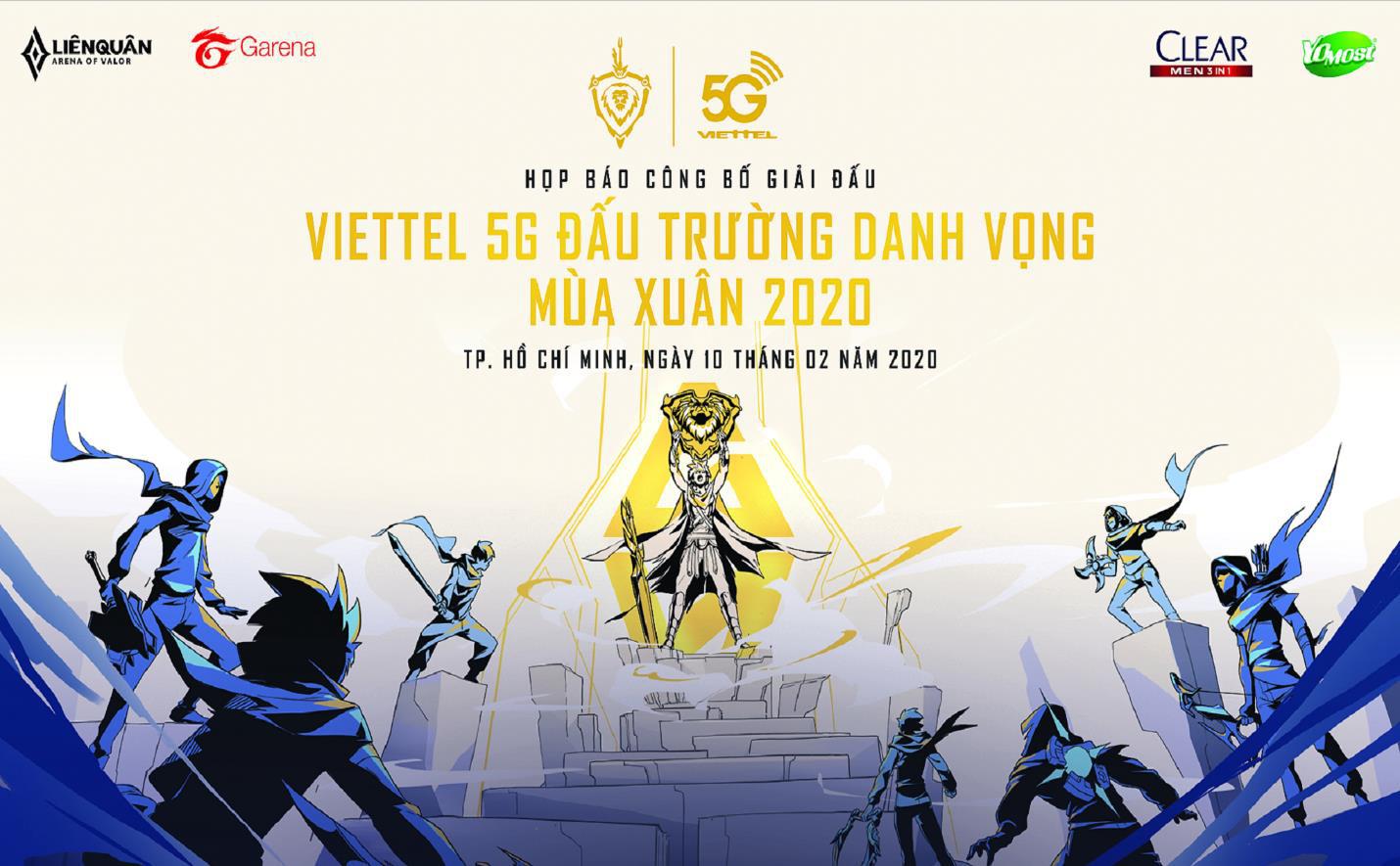 Công bố giải chuyên nghiệp Liên Quân Mobile Viettel 5G Đấu trường Danh vọng Mùa xuân 2020 - Ảnh 1.