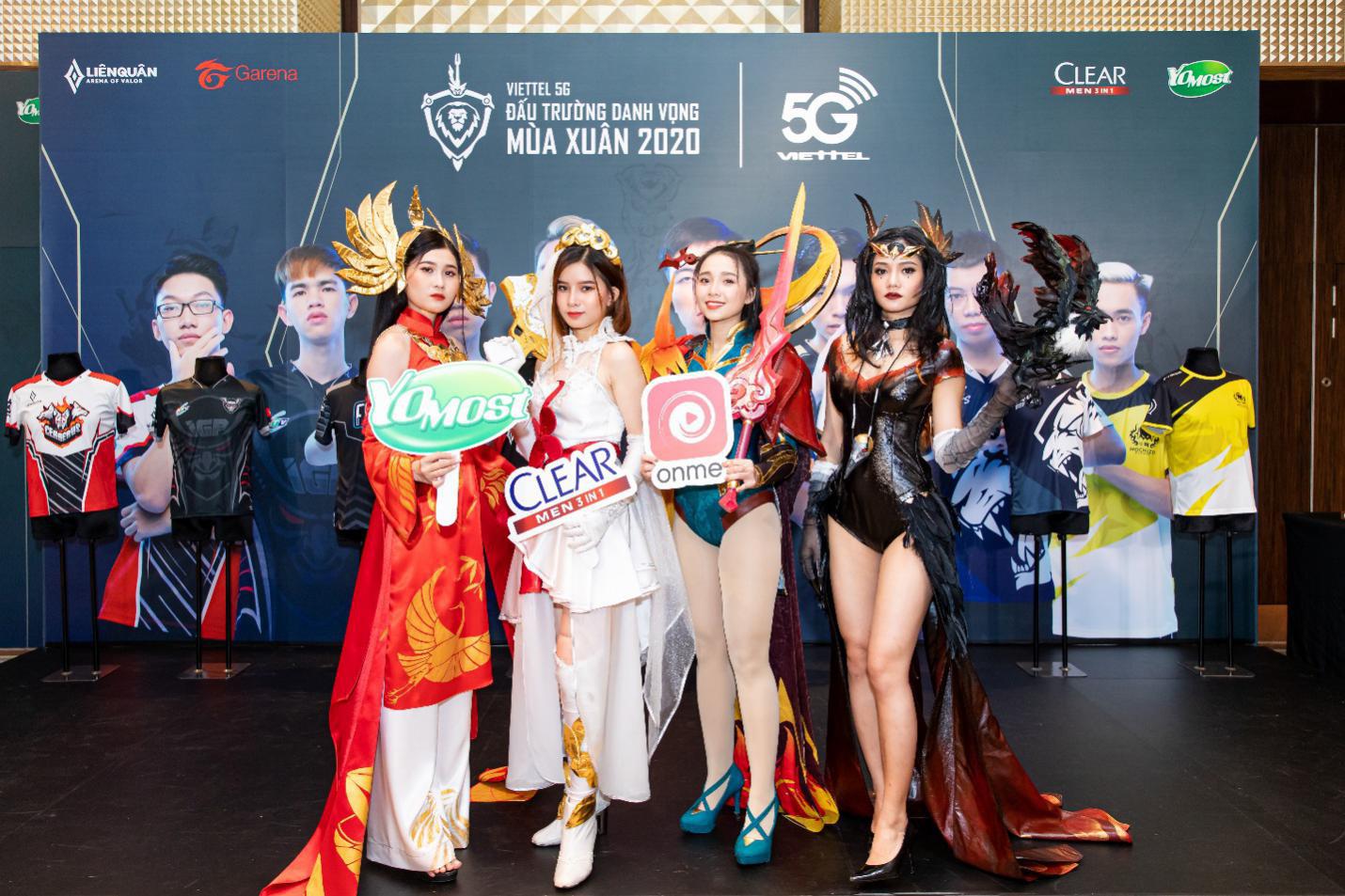 Công bố giải chuyên nghiệp Liên Quân Mobile Viettel 5G Đấu trường Danh vọng Mùa xuân 2020 - Ảnh 2.