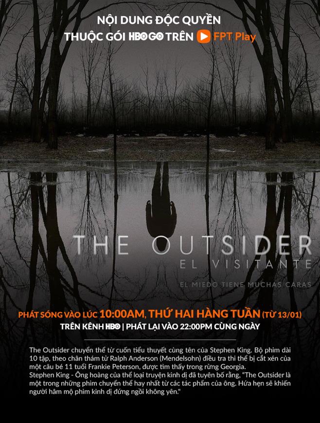 """Tiểu thuyết """"The Outsider"""" của Stephen King được chuyển thể thành serie chiếu trên HBO GO - Ảnh 2."""