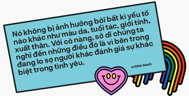 Hương Giang: Tình yêu dù có khác biệt thì cũng là chuyện hai người, nó chẳng ảnh hưởng đến bạn, đến tôi hay tiền ăn sáng của ai cả! - Ảnh 12.