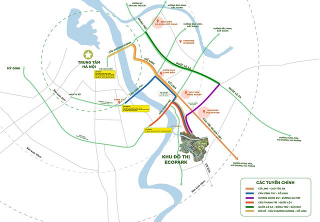 Cửa ngõ Đông Nam thành phố hưởng lợi nhờ kết nối hạ tầng thuận tiện - Ảnh 1.