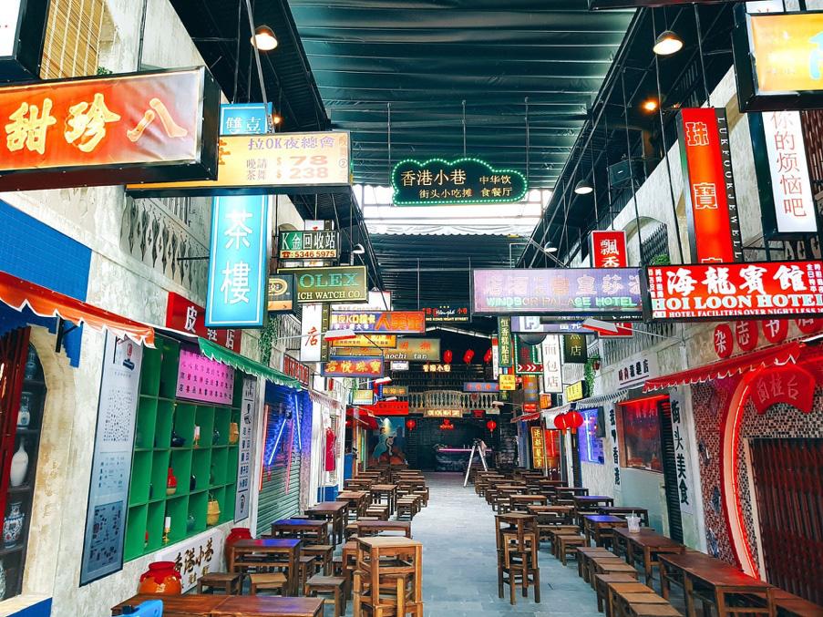 Lạc lối trong không gian đậm chất Hong Kong tại Hẻm Phố - Ảnh 2.
