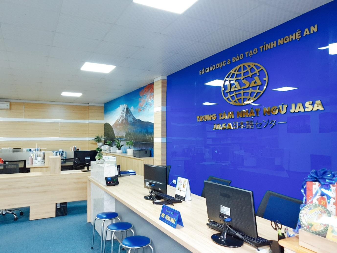 Có một trung tâm Nhật ngữ chất tại Nghệ An - Ảnh 1.
