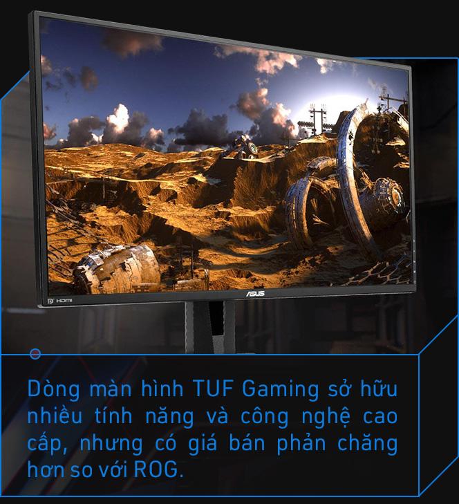 Asus TUF Gaming và câu chuyện 'ông vua' màn hình chơi game quyết thay đổi vì game thủ - Ảnh 8.