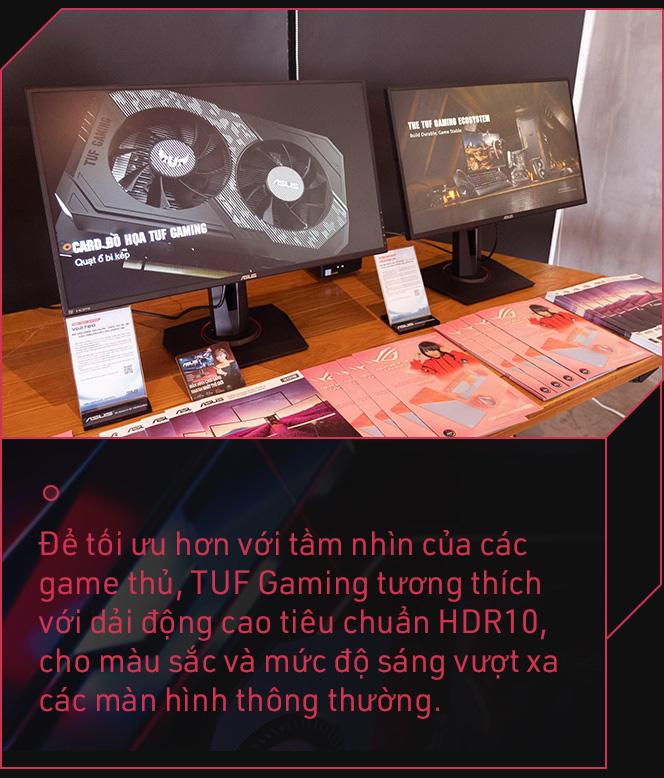 Asus TUF Gaming và câu chuyện 'ông vua' màn hình chơi game quyết thay đổi vì game thủ - Ảnh 11.
