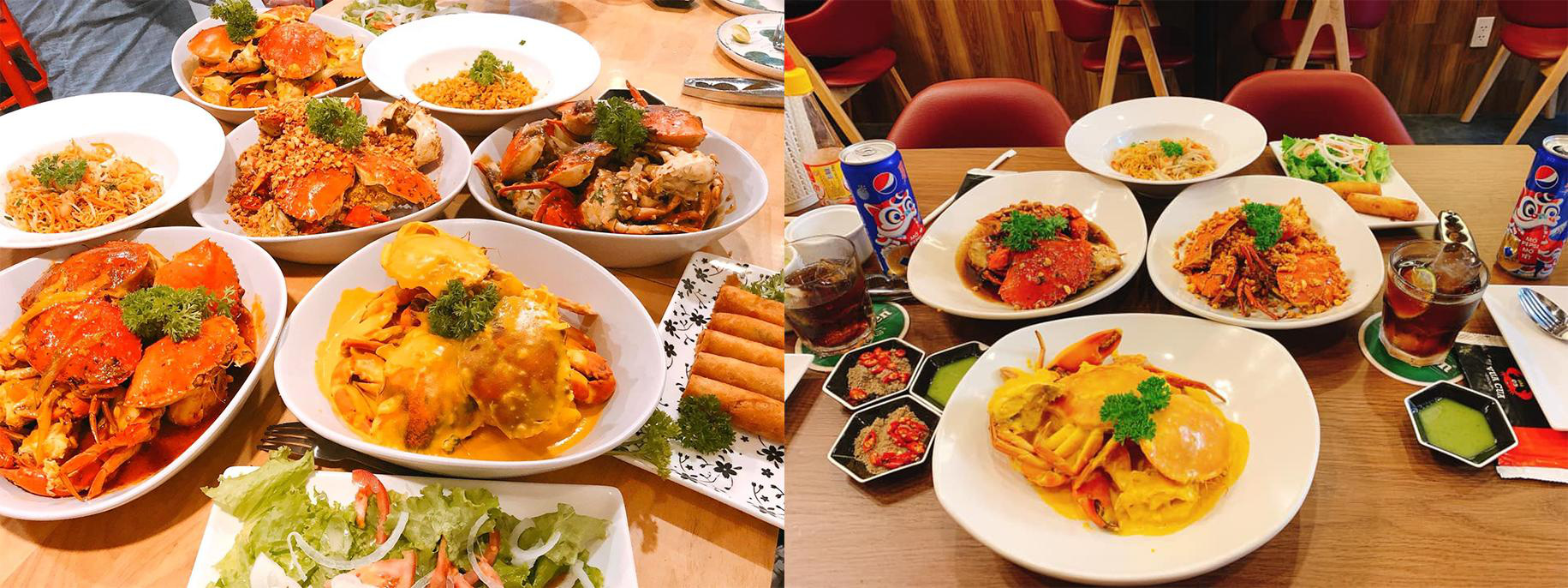 Buffet cua có gì đặc biệt mà thực khách Sài Gòn tấp nập check-in - Ảnh 5.