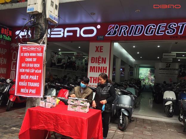 Dibao phát hàng ngàn khẩu trang miễn phí - chung tay đẩy lùi Corona - Ảnh 1.