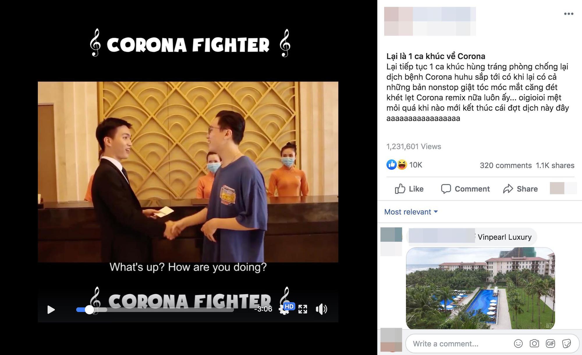 Bản rap cực chất của nhân viên lễ tân khách sạn sáng tác cổ vũ tinh thần phòng chống Corona - Ảnh 5.
