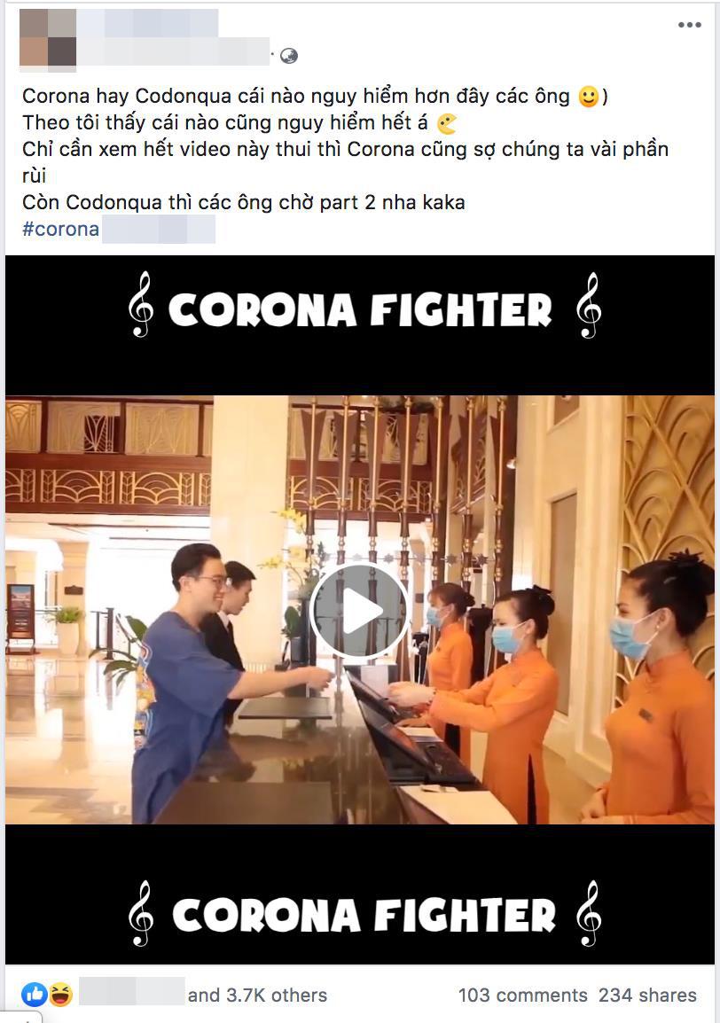 Bản rap cực chất của nhân viên lễ tân khách sạn sáng tác cổ vũ tinh thần phòng chống Corona - Ảnh 6.