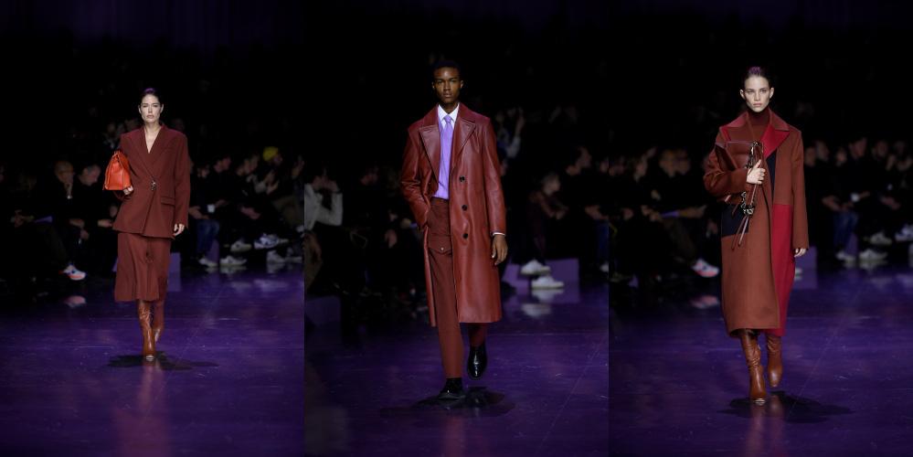 Cara Delevingne diện suit tím nổi bật tại show diễn BOSS Thu Đông 2020 - Ảnh 5.