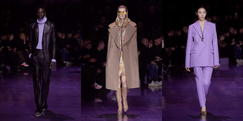 Cara Delevingne diện suit tím nổi bật tại show diễn BOSS Thu Đông 2020 - Ảnh 6.