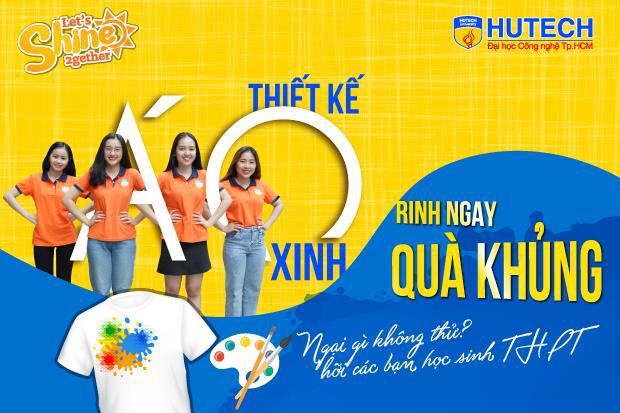 Cuộc thi Thiết kế áo lớp do HUTECH tổ chức sẽ nhận bài đến ngày 15/3 - Ảnh 1.