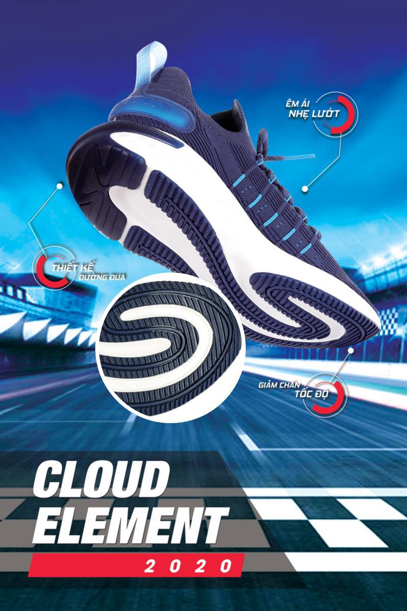 Cloud Element: Đôi giày thể thao lấy cảm hứng từ đường đua F1 - Ảnh 2.