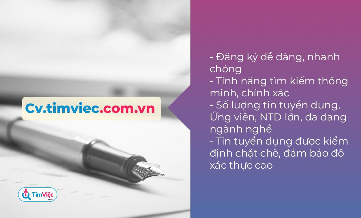 Có CV.timviec.com.vn - Cơ hội sở hữu CV xin việc dễ dàng trong tầm tay - Ảnh 3.