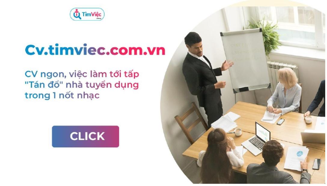 Có CV.timviec.com.vn - Cơ hội sở hữu CV xin việc dễ dàng trong tầm tay - Ảnh 1.