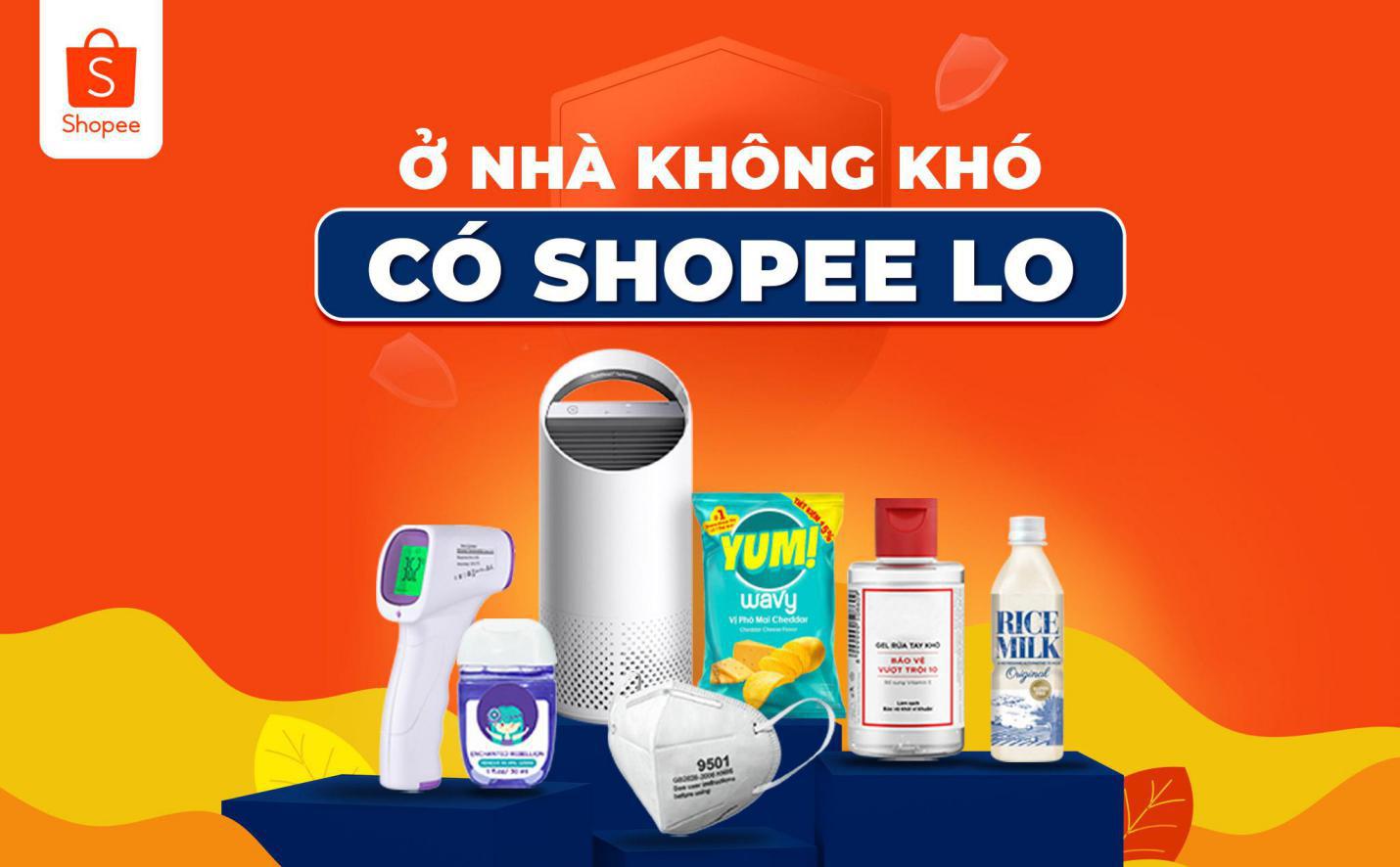 Shopee giới thiệu chương trình ưu đãi giúp người dùng dễ dàng tiếp cận và mua sắm hàng hóa thiết yếu - Ảnh 1.