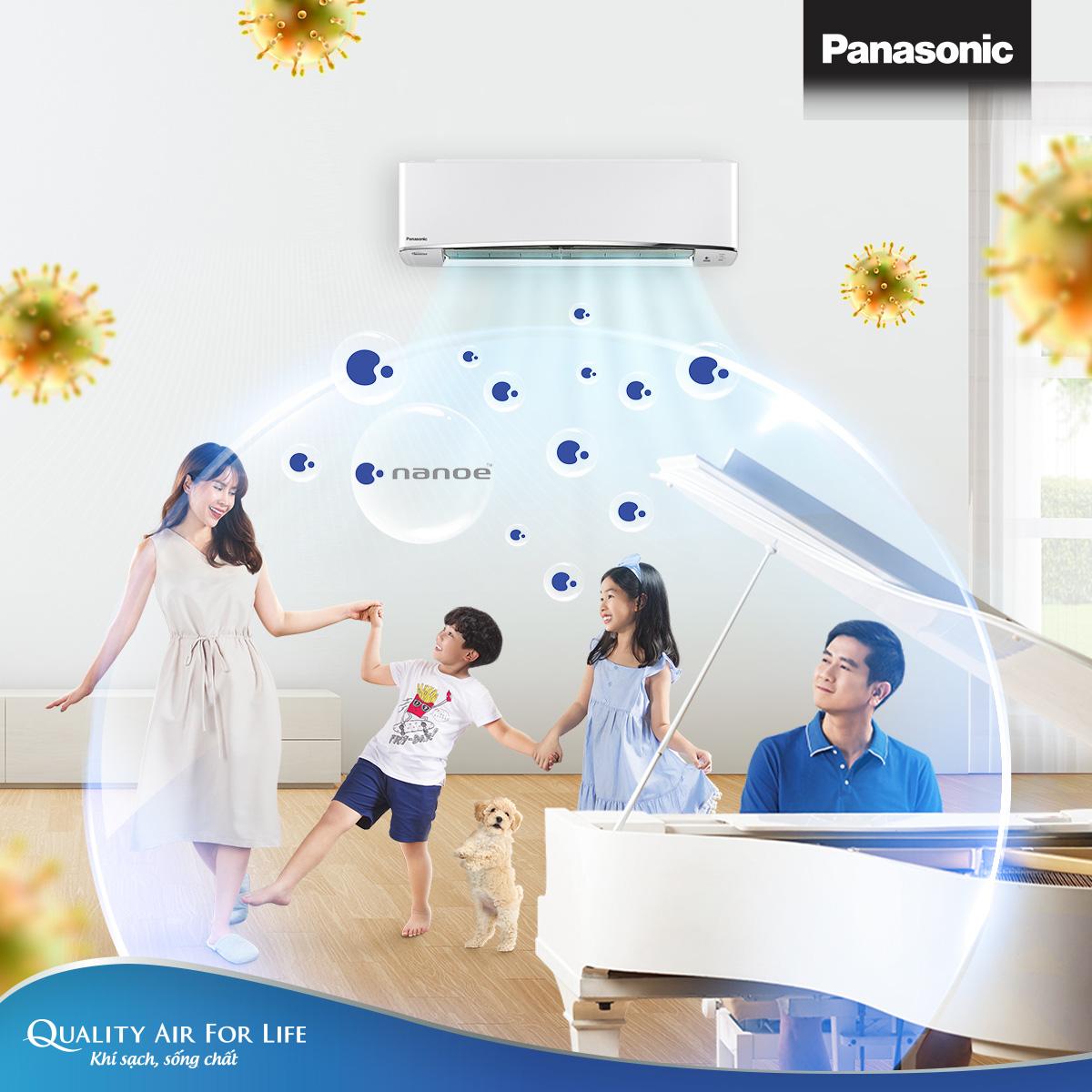 Công nghệ lọc khí Panasonic nanoe™ ức chế hoạt động của nhiều loại vi khuẩn, vi-rút - Ảnh 2.