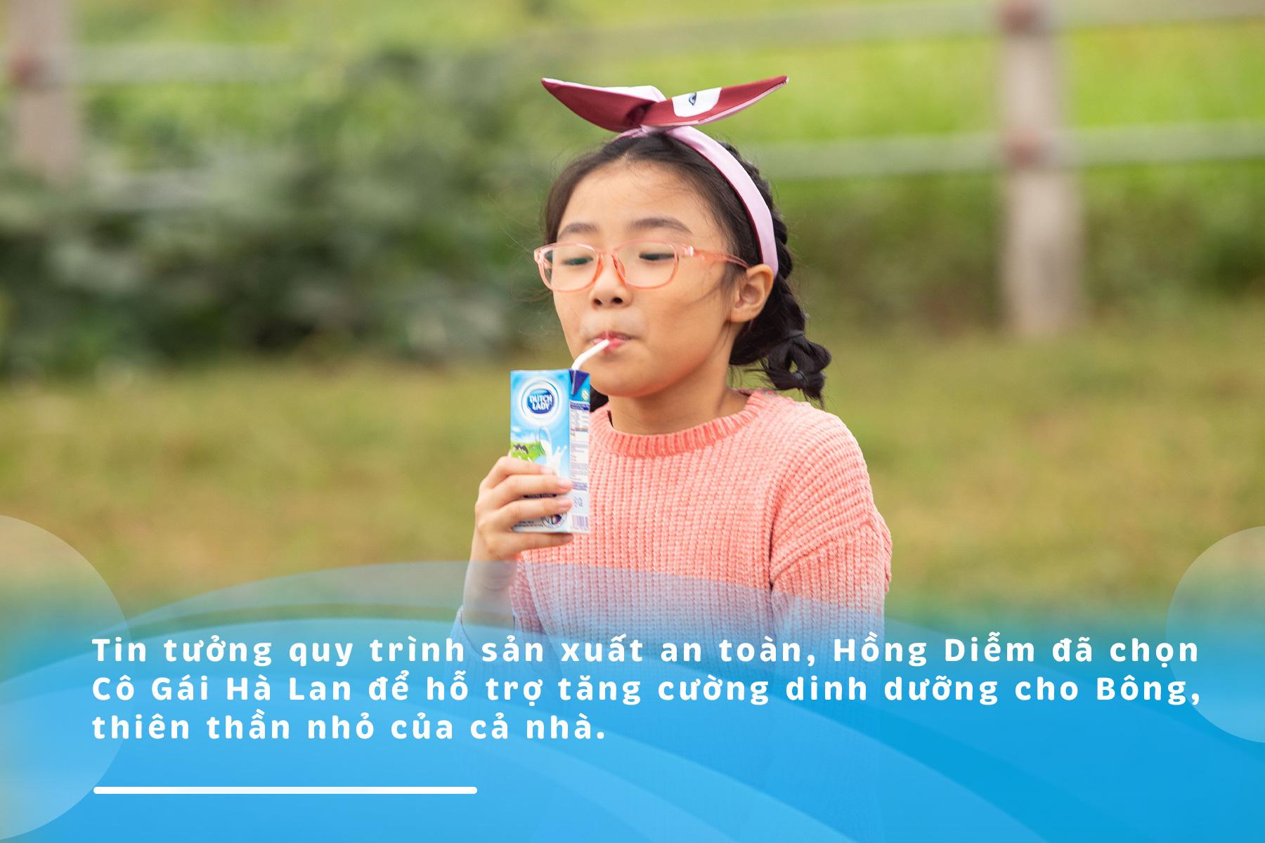 """Nguyên tắc """"2 né 3 nên"""" giúp Hồng Diễm chăm con khỏe mùa dịch - Ảnh 1."""