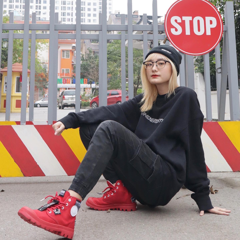 Phối đồ chuẩn street style của giới trẻ Việt trên những đôi Palladium Overlab - Ảnh 3.
