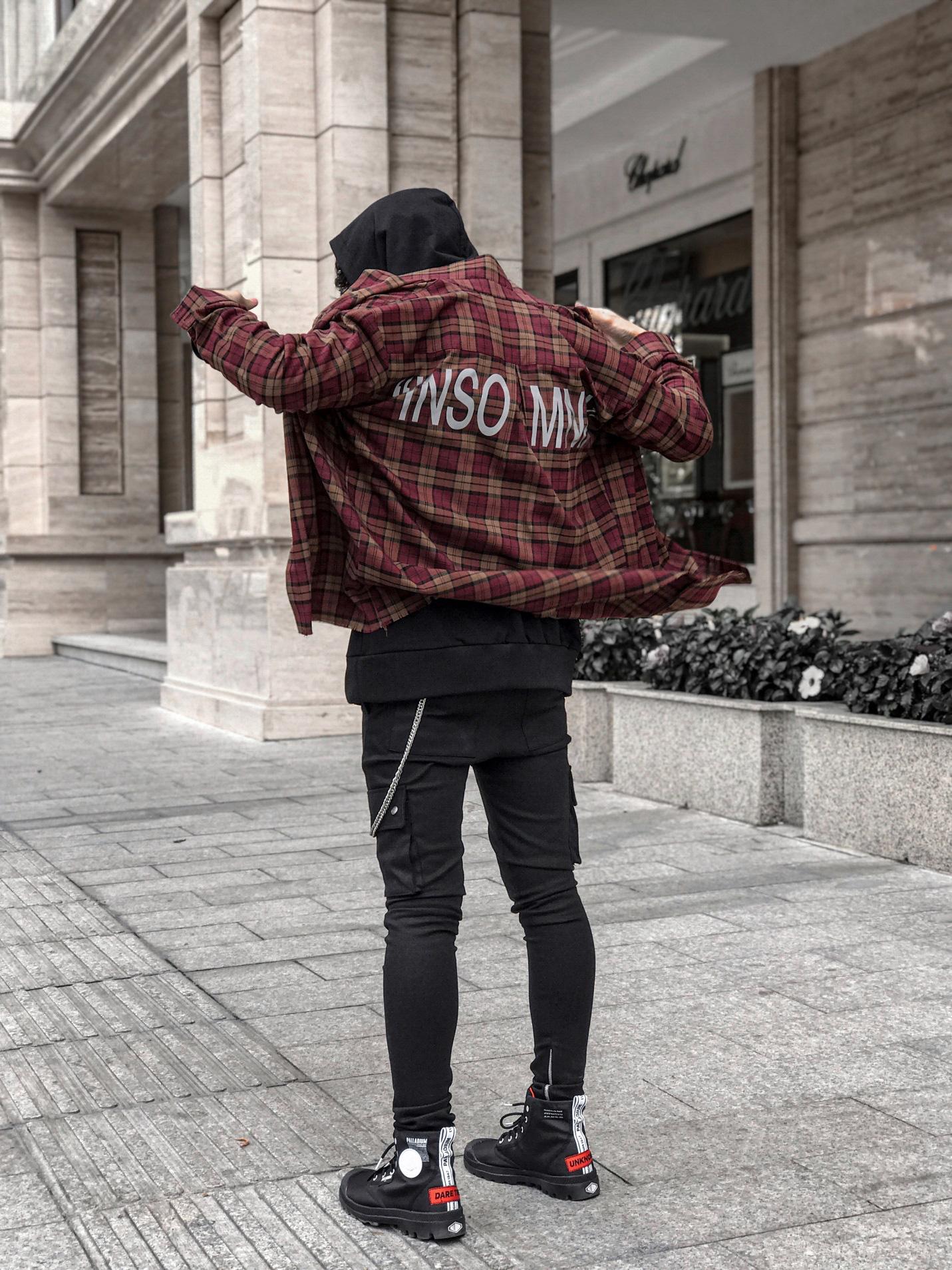 Phối đồ chuẩn street style của giới trẻ Việt trên những đôi Palladium Overlab - Ảnh 6.