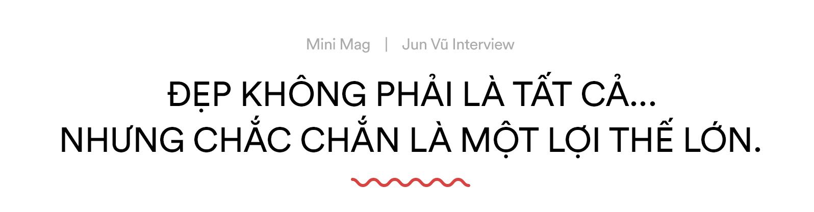 """Jun Vũ: Đẹp không phải là tất cả, nhưng chắc chắn là một lợi thế lớn với tôi!"""" - Ảnh 5."""
