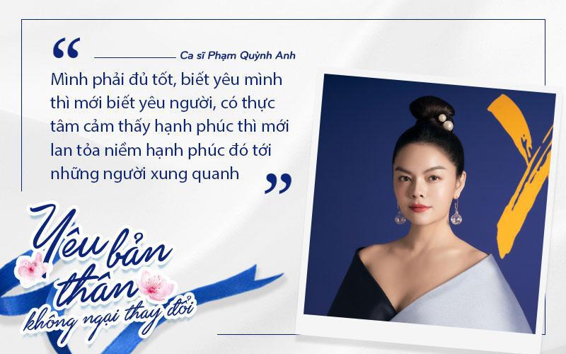Phạm Quỳnh Anh, Hà Anh, Hana Giang Anh hưởng ứng lời kêu gọi phái đẹp học cách yêu bản thân - Ảnh 4.