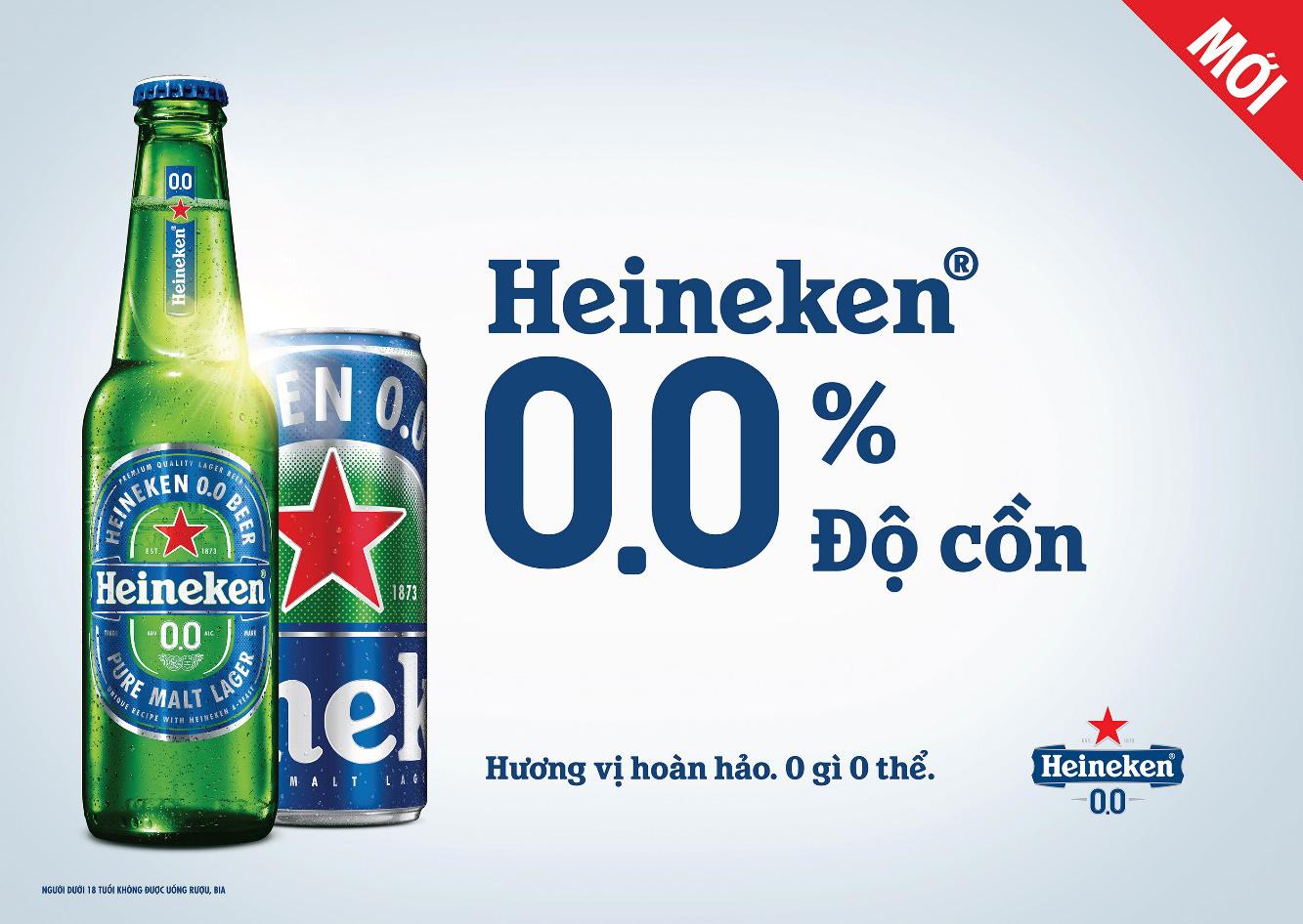 Heineken ra mắt bia 0 độ, truyền cảm hứng đến giới trẻ Việt qua chiến dịch #NowYouCan - Không Gì Không Thể - Ảnh 1.