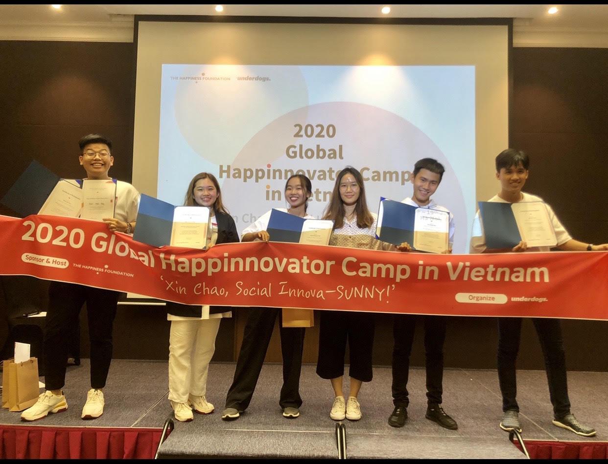 Xây dựng app đọc sách cho người mù, sinh viên HSU thắng giải tại Global Happinnovator - Ảnh 3.