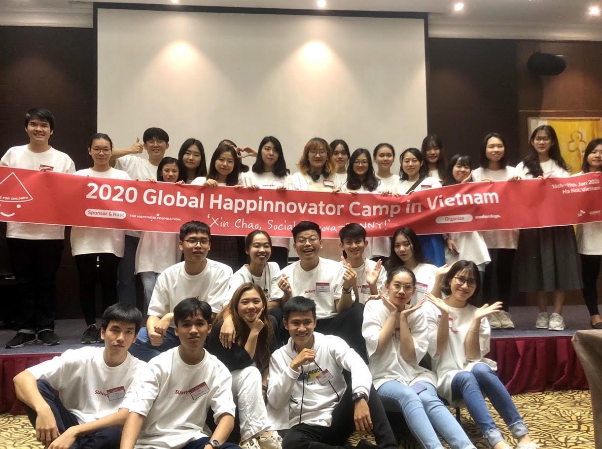 Xây dựng app đọc sách cho người mù, sinh viên HSU thắng giải tại Global Happinnovator - Ảnh 4.