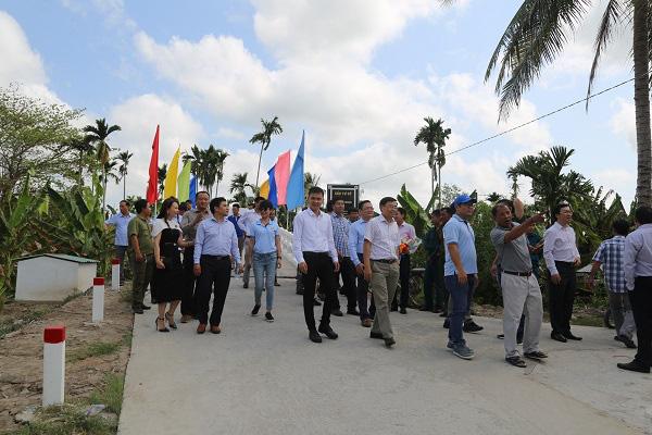 Vietbank khánh thành cầu giao thông nông thôn tại xã Kế Thành, tỉnh Sóc Trăng - Ảnh 2.