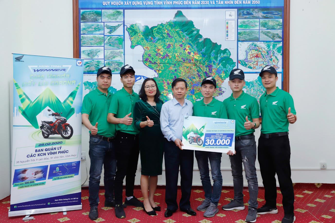 Hành trình Honda Winner chủ động phòng chống dịch COVID-19 cùng 120,000 công nhân - Ảnh 3.