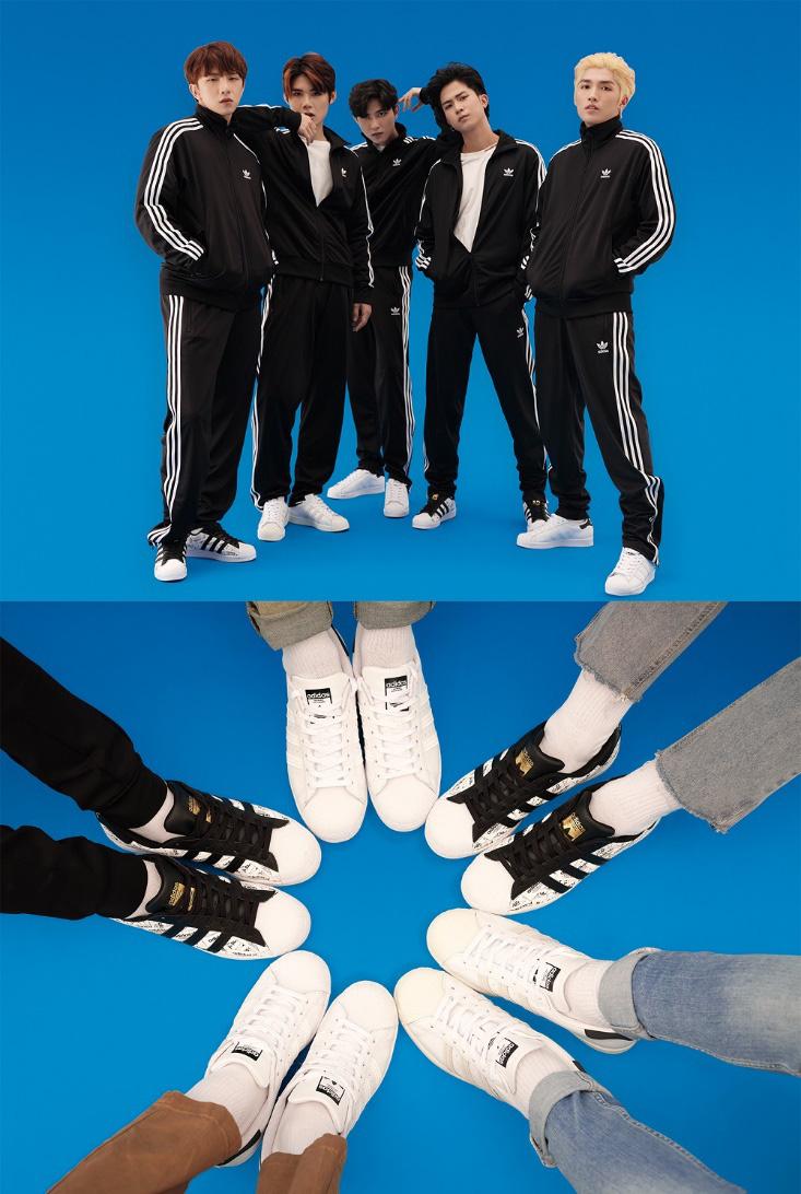 Chẳng cần lên đồ lồng lộn, Blackpink cùng chị em Chi Pu vẫn thể hiện thần thái ngút trời trong set đồ kinh điển nhà adidas - Ảnh 7.