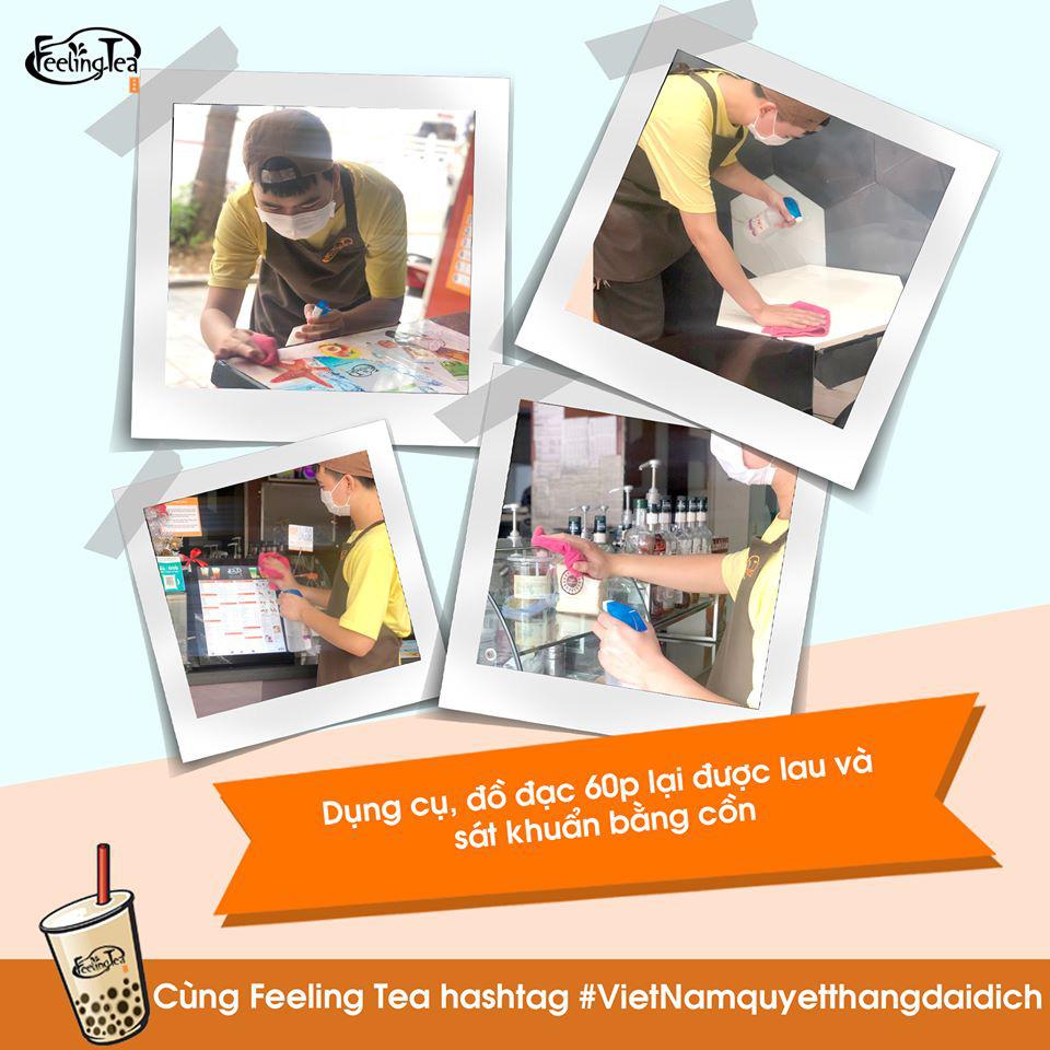 Cùng Feeling Tea tham gia Thử thách rửa tay và những điều lưu ý khi đi hàng quán thời Covid-19 - Ảnh 5.