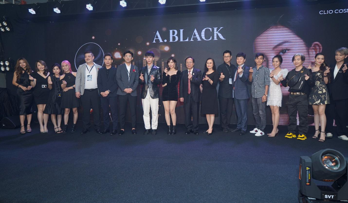 Lễ ra mắt thương hiệu nổi tiếng Hàn Quốc A.Black - Ảnh 1.